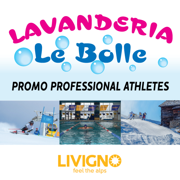 Promozione per Atleti Lavanderia le Bolle Livigno